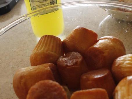 南イタリアナポリのお菓子ババ