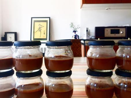 低温調理チョコムース