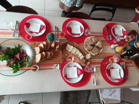 ラクッチーナサッチ基本の料理プチクリスマスレッスン開催しました