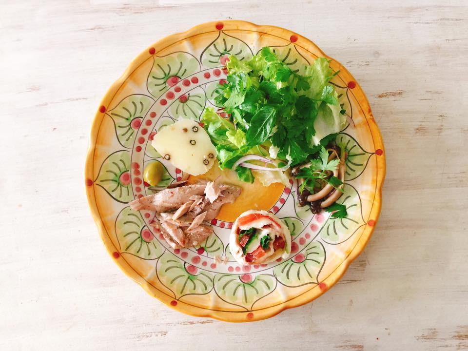 南イタリアのお皿