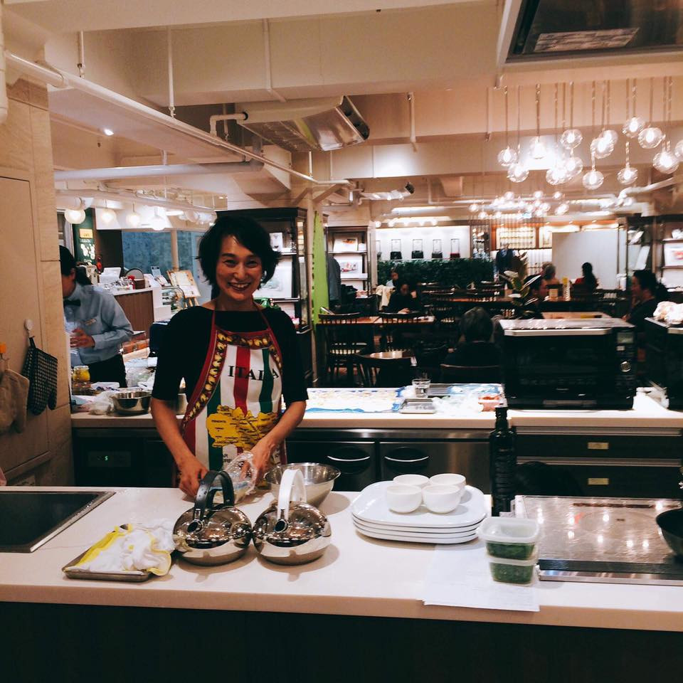 藤野幸子 日本橋美雨t腰本店はじまりのカフェで