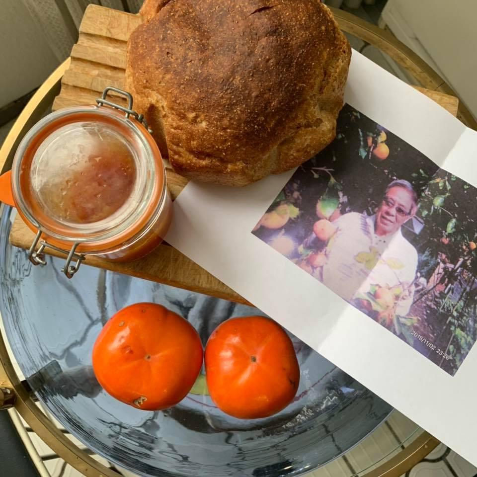 北島三郎さんの柿