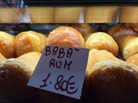 ナポリのお菓子ババ