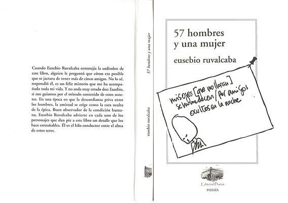 57_hombres_y_una_mujer,_forros._Poesía.j