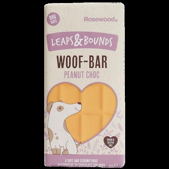 Leaps & Bounds Peanut Choc Woof Bar