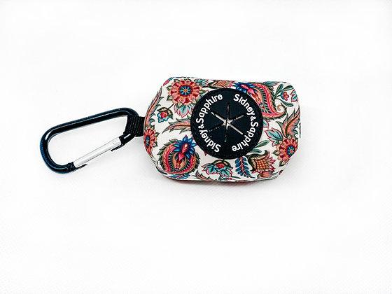 'Paisley Pippin' Poo Bag/Treat Dispenser
