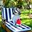 Thumbnail: Midlee Smiley Watermelon Squeaker Plush Dog Toy