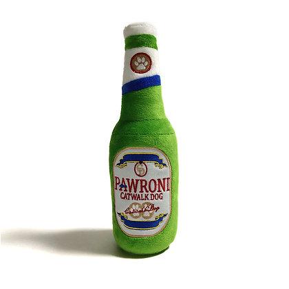 Pawroni Beer Bottle Plush Toy