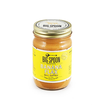 Banana Flax Wag Butter - Peanut Butter for Dogs