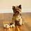 "Thumbnail: Midlee X-Small Dog Tennis Balls 1.5"" - (Pink/Yellow)"