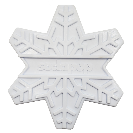 Snowflake Ultra Durable Nylon Dog Chew Toy for Aggressive Chewers Chewers
