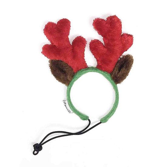Christmas Reindeer Small Dog Antlers