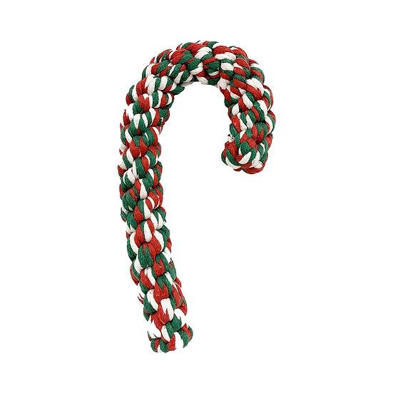 Candy Cane Rope Christmas Dog Toy (Large)