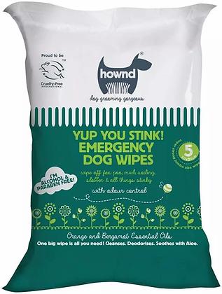Hownd Yup You Stink! Emergency Dog Wipes