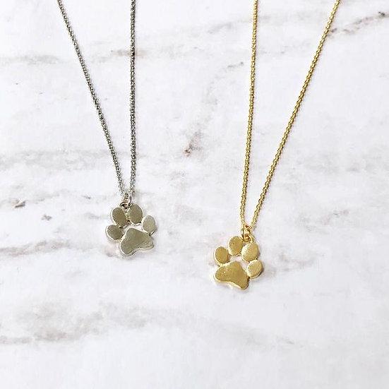 Paw Print Necklaces