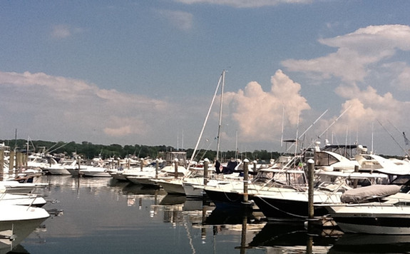 Slips & Storage in the Niantic Bay CT