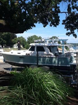 Marina on the Niantic River