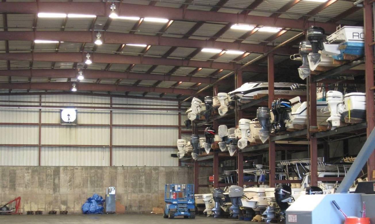 Indoor Boat Rack Storage Niantic CT