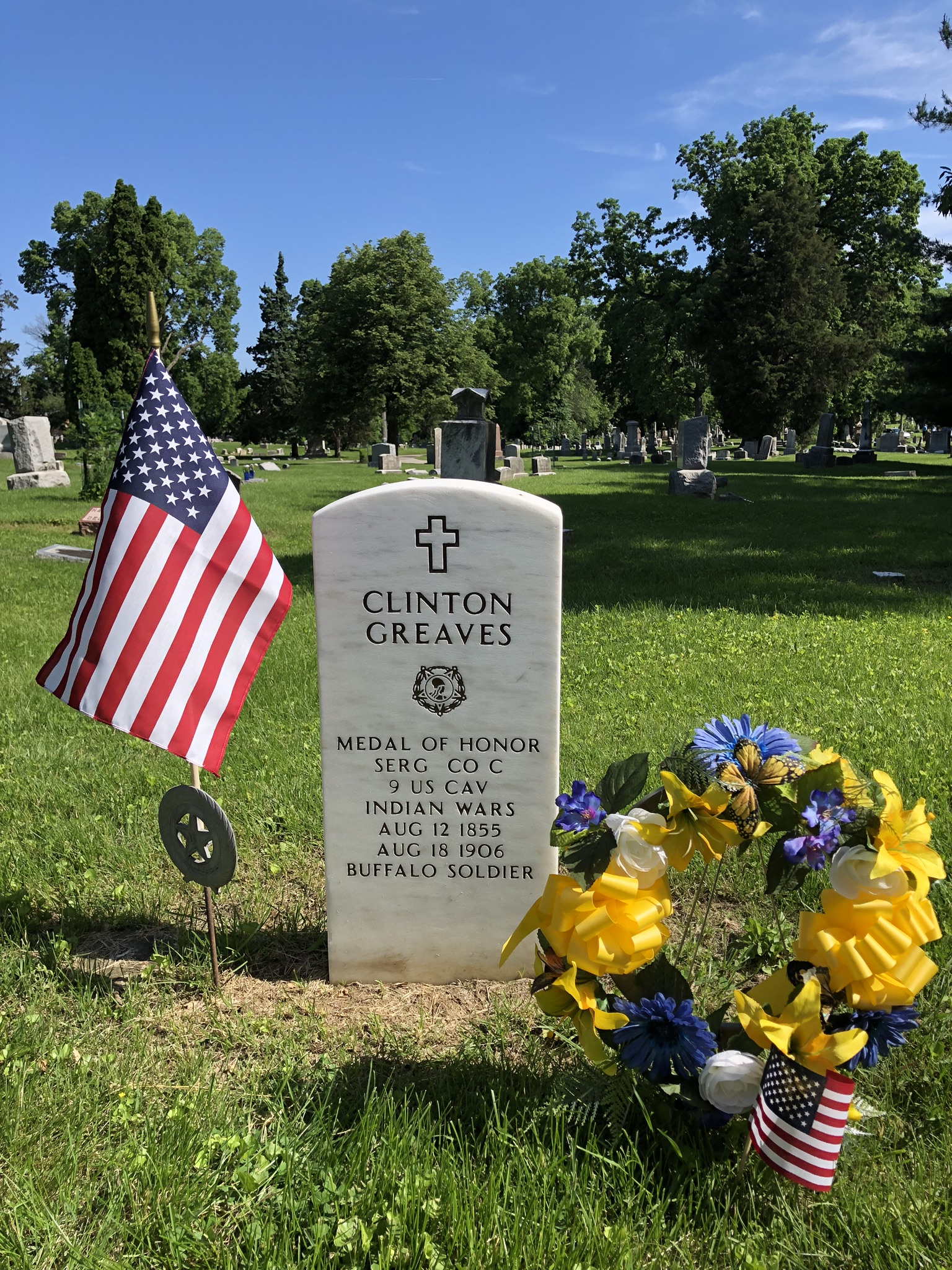 Clinton Greaves Memorial