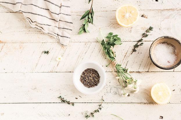 Herbes et minéraux