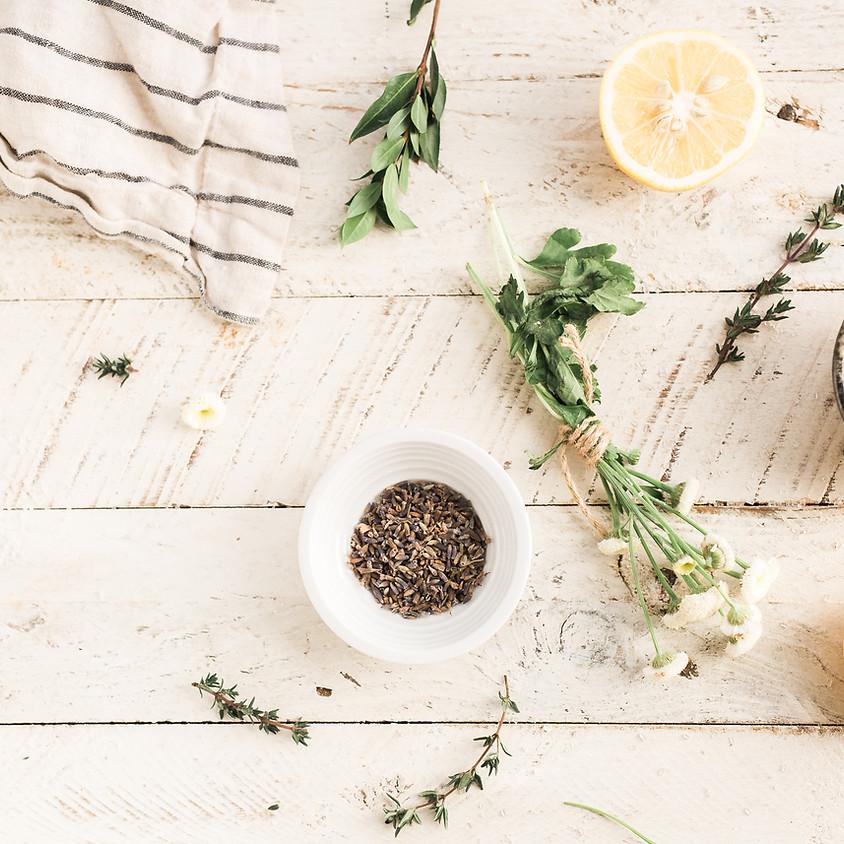 FULL!! Herbal Workshop: Herb Drying and Homemade Foot Soaks