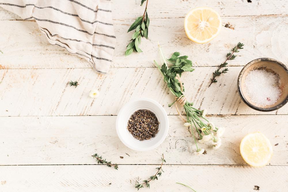 leckere Kräuter und Gewürze für die Küche