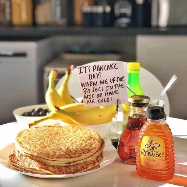 Pancake day treats!