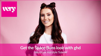 How To Create Space Buns Look with ghd