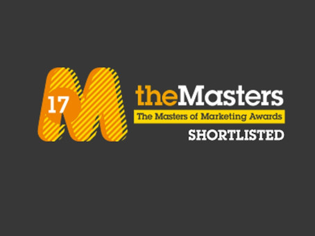 We made the Masters of Marketing shortlist!