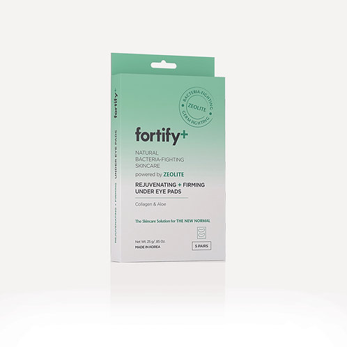 Fortify+ Rejuvenating & Firming Under Eye Pads - 5 Pack