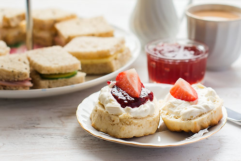 Afternoon Tea For 1 person take away or delivery