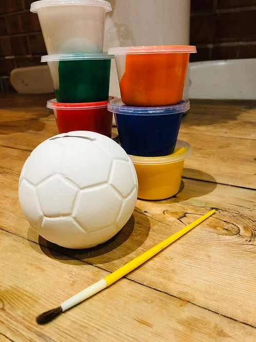Ceramic Football Box