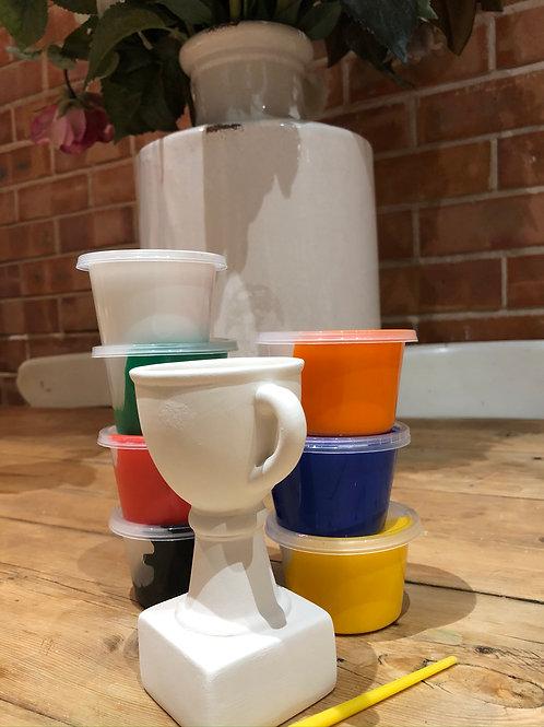 Ceramic Trophy