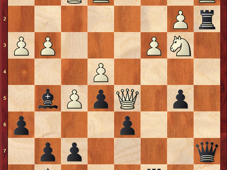 Tactical Blow from the Legend Bobby Fischer