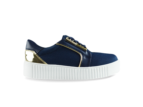 Sneakers Textil Marino