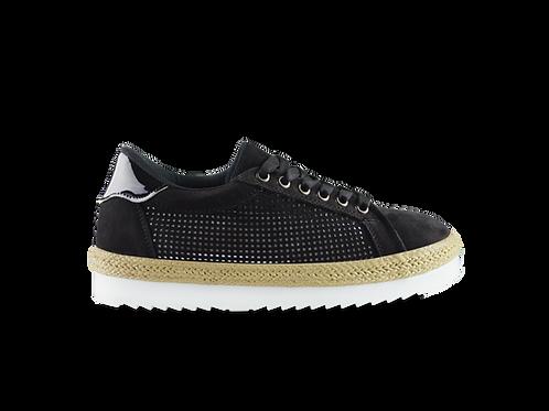 Sneakers Laser Cut Negro