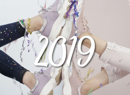 ¡Los sneakers seguirán siendo tendencia en 2019!
