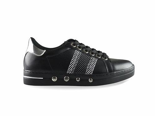 Sneakers malla negro