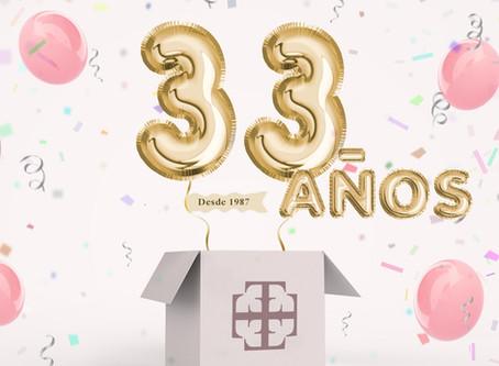 ¡33 ANIVERSARIO!