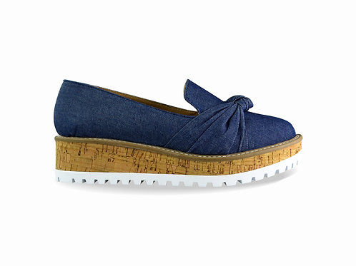 Mocasín denim