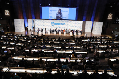 KESK Founder Speaks at the UNESCO 40th General Conference