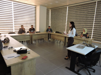 Course for Energy Saving Strategies in New and Existing Buildings - Erbil, Iraq.