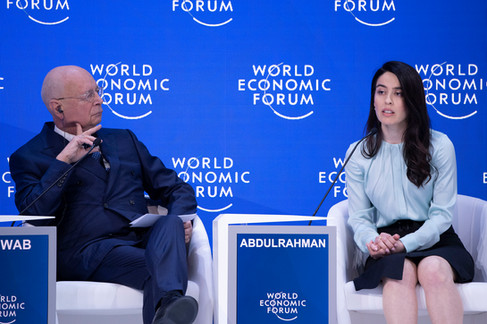"""Opening panel of the WEF Annual Meeting 2019 titled """"Shaping Globalization 4.0"""""""