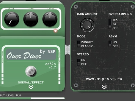 FREE Overdrive Effect Over Diver od82o