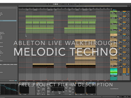 Melodic Techno FREE Ableton Project File
