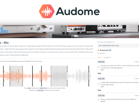 FREE Audio Collaboration and Revision Tool: Audome