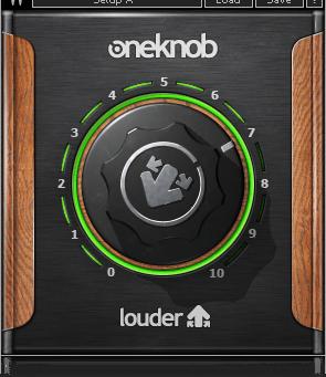 FREE Waves OneKnob Louder Plugin