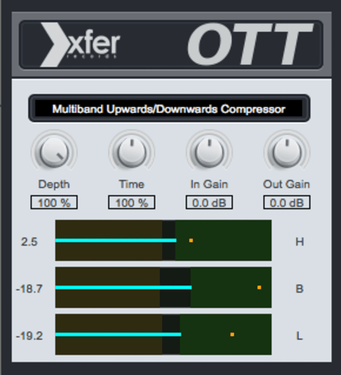OTT by Xfer Records