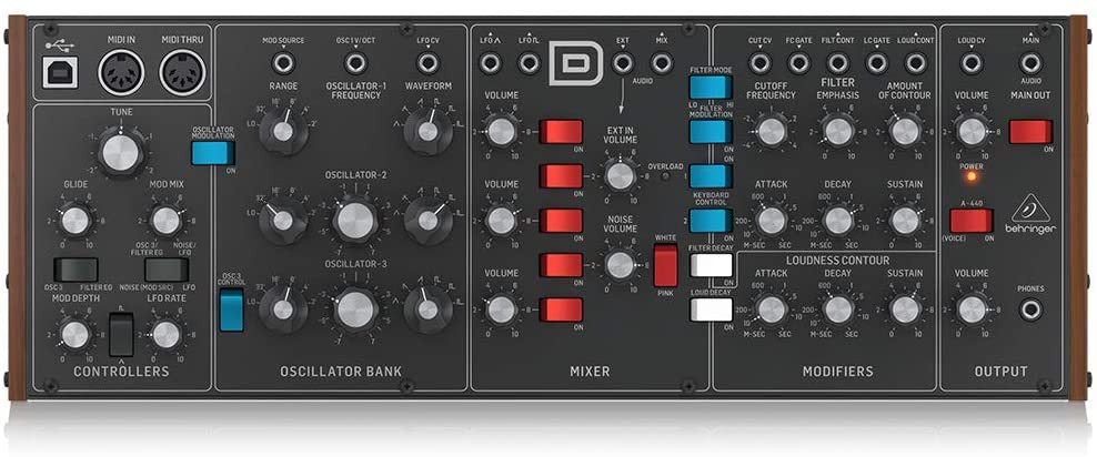 Behringer Model D Analogue Synth