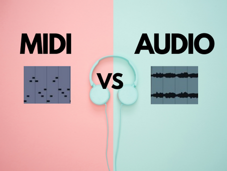 MIDI vs Audio - What's The Difference?